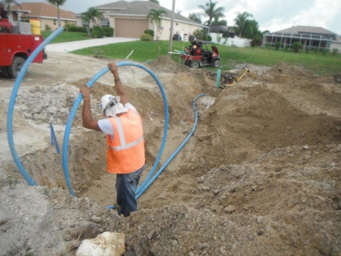 Water Lateral  Service Installation