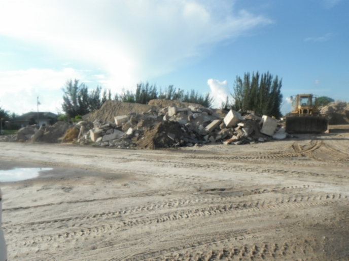 Misc   Contractor staging lot