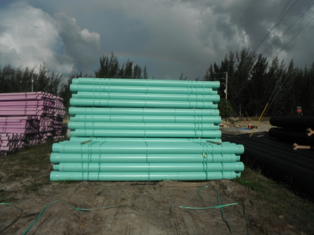 Sewer Pipe - Aqua