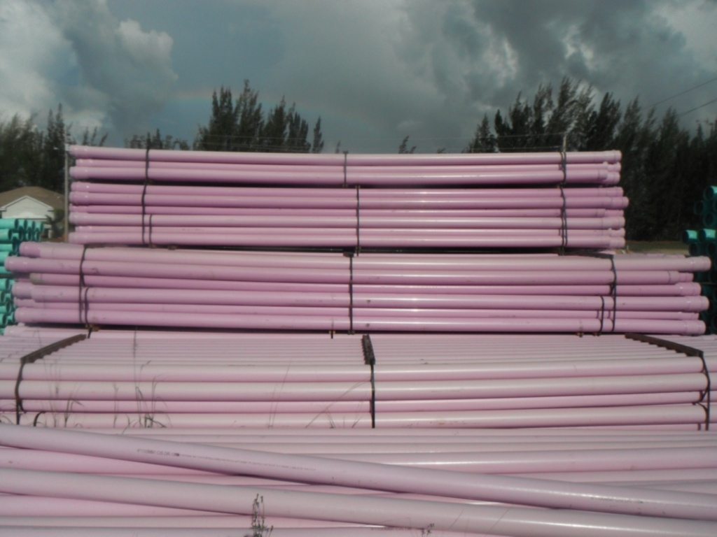 Irrigation Pipe - Pink