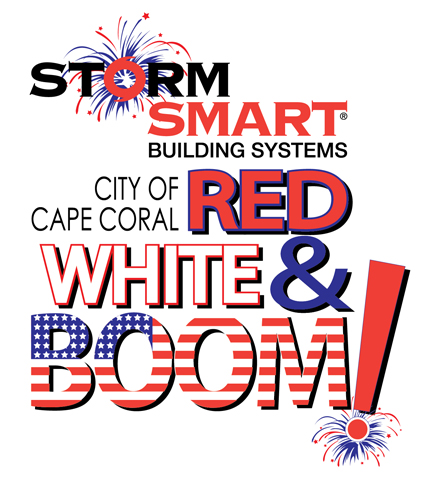 Red White Boom Logo