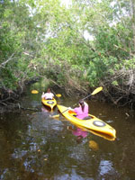 kayaking at eco