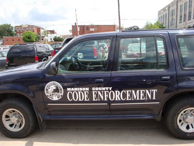 Code Enforcement Vehicle